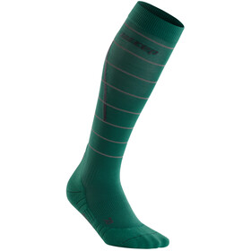 cep Reflective Socks Women, green